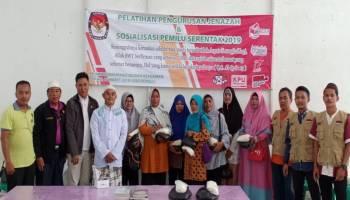 Relasi KPU Bangka Sosialisasi Pemilu dengan Pelatihan Pengurusan Jenazah