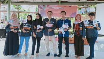 Relawan Demokrasi KPU Bangka Sosialisasikan Pemilu 2019 di Kampus UBB