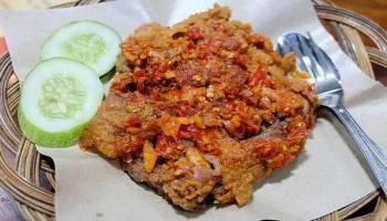 Resep Masakan: Ayam Geprek (masakan rumahan sederhana)