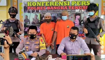 Residivis Spesialis Curat Dibekuk Tim Opsnal Polres Bangka Tengah