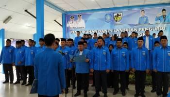 Resmi Dilantik Sebagai Ketua KNPI Bangka Periode 2020 - 2023, Ismir Racmaddinianto Akan Wujudkan Pemuda Bahtera