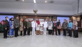 Resmi Jabat Bupati dan Wabup Bangka Tengah, Algafry Rahman-Herry Erfian : Ekonomi Jalan, Pandemi Putus !