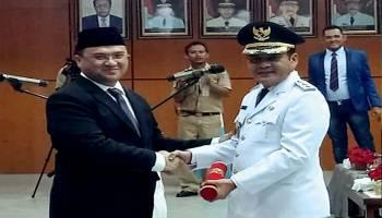 Resmi Yulianto Satin Resmi Jabat Wakil Bupati Bangka Tengah