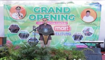 Resmikan DC Berkah Mart, Gubernur Pengen Buka Pasar Sampai ke Desa