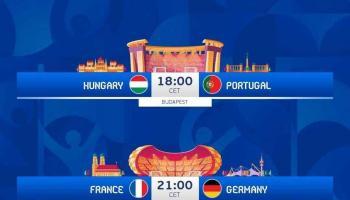 Review Euro Cup Malam Ini, Portugal vs Hungaria, Perancis vs Jerman