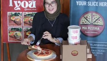 Review Makanan : Yuk, Nikmati Lezatnya Pizza By Mia Pizzeria