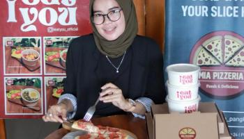 Review Makanan: Yummy! Yuk Nikmati Lezatnya Pizza Ala Mia Pizzeria