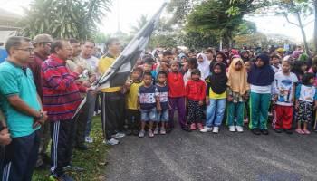Ribuan Peserta Ramaikan Jalan Santai HUT Pol PP
