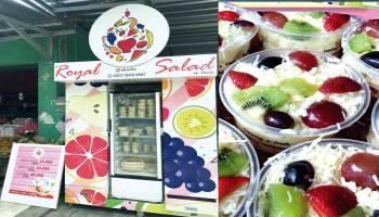 Royal Salad Pioneer Salad Buah di Kota Pangkalpinang