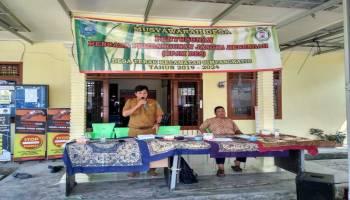 RPJMDes Ditetapkan, Kades Terak Prioritaskan Potensi Desa