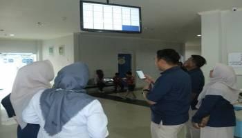 RS Medika Stania Sediakan Display Monitor Bagi Calon Pasien