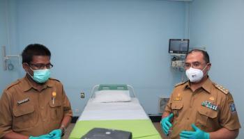 RSUD Dr.(H.C) Ir. Soekarno Siap Rawat Pasien Positif Covid-19 Dengan Kondisi Berat