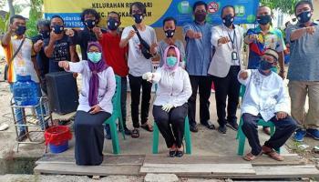 RT di Kelurahan Rejosari Pangkalpinang Mewajibkan Warganya Pakai Masker