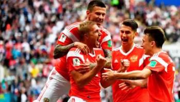 Rusia Hancurkan Arab Saudi 5-0 Tanpa Balas