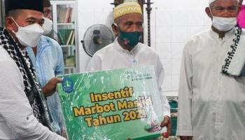 Safari Ramadan di Masjid Al-Kurnia, Mulkan Ajak Jamaah Jalin Kekompakan