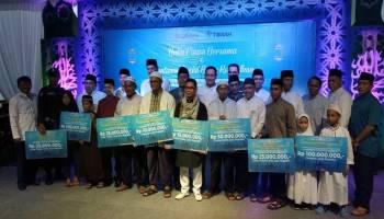Safari Ramadhan PT. Timah Beri Bantuan Sosial Rp 750 Juta
