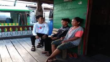 Sahabat JCA Kunjungi Anak Yatim Piatu Korban Tabrakan
