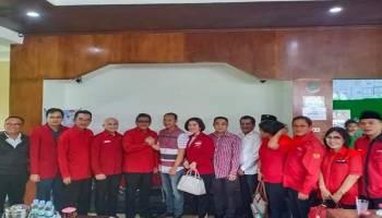 Sambangi Babel, Yuliyanto Satin Ikut Sambut Sekjen DPP PDI Perjuangan