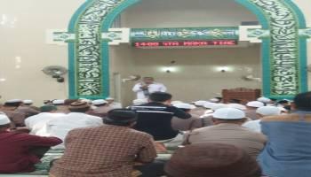 Sambut Bulan Ramadhan, Ustadz Subhki Beri Tausiyah di Masjid Ar Raihan Koba
