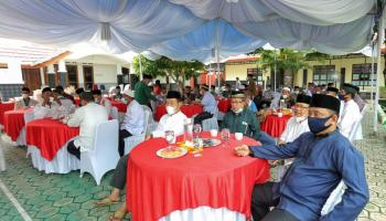 Sambut Ramadhan Pemkab Basel Bersama Forkompimda Gelar Doa Bersama