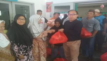 Sambut Ramadhan, Wasprod PT Timah Bagikan 500 Paket Sembako Gratis