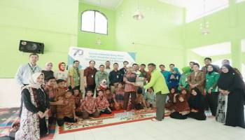 Sambut Usia ke-70,  Garuda Indonesia Group Santuni Anak Panti Asuhan