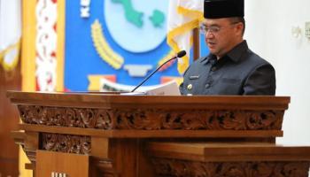 Sampaikan LKPJ, Gubernur Babel Beberkan Capaian di Tahun 2020