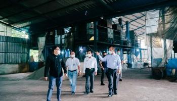 Sapa Pelanggan Potensial, GM PLN dan Wagub Babel Kunjungi Pabrik Zircon