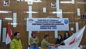 Sastria Wijayanti Pimpin DPC HPI Kabupaten Bangka