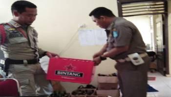 Sat Pol PP Kabupaten Bangka, Periksa Toko Penjual Miras