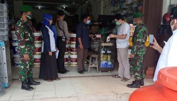 Satgas Bukit Intan Sosialisasi Protokol Covid-19 di 33 Titik di 7 Kelurahan