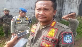 Satpol PP Bangka Lakukan Penertiban Penambangan di Kolong Bijur Hakok
