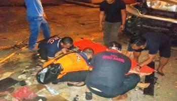 Satu Korban Meninggal Mobil Terjun di Jembatan EMAS, Ternyata PNS PU Kota Pangkalpinang
