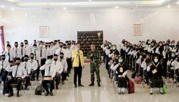 Sebanyak 102 Mahasiswa Baru Stisipol Pahlawan 12 Sungailiat Ikuti PKKMB
