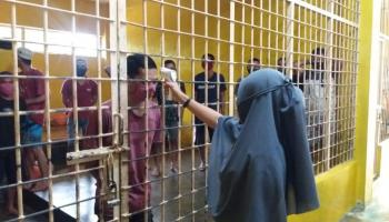 Sebelum Masuk Lapas, Enam Tahanan Polres Bateng yang Sudah Inkrah Wajib Rapid Test