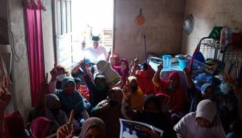 Sebelum Mulai Kampanye, Calon Wabup Bangka Tengah Herry Erfian Ajak Warga Baca Al Fatiha untuk Alm Ibnu Saleh