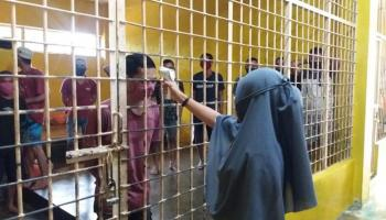 Sejak Pandemi Covid-19, Tahanan Polres Bangka Tengah Overload Hingga 50 Persen