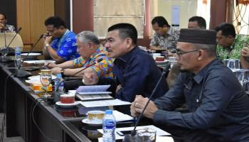 Sekda Babel Hadiri Rapat Badan Musyawarah DPRD, Dengarin Saran dan Usulan Dewan