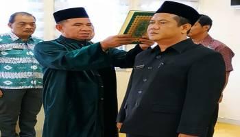 Sekda Radmida Lantik Pejabat Struktural DPMPTSP Naker Pangkalpinang