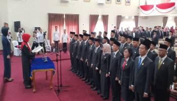 Sekwan Sampaikan Pimpinan Sementara DPRD Kota Pangkalpinang