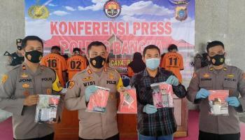 Selama Februari, Lima Tersangka Ditangkap Polres Bangka Kasus Peredaran Narkoba