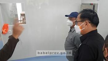Selangkah Lagi, Laboratorium PCR RSUD Belitung Segera Beroperasi