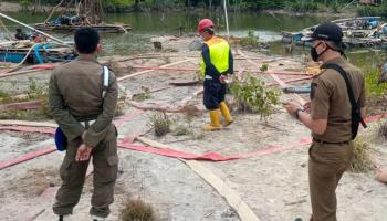 Semakin Marak, Tambang Ilegal di Jalan Laut Ditertibkan Satpol PP Bangka