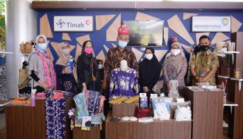 Semarakkan Bazar Ramadhan 2021, 11 Mitra Binaan PT Timah Pasarkan Produk Unggulan