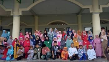 Semarakkan Bulan Ramadhan, Mahasiswa KKN-1 IAIN SAS Babel Gelar Festival Anak Soleh