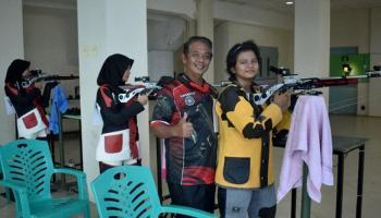 Sembilan Atlet Menembak Babel Tampil Maksimal di Kejurnas, Suharto: Saya Sangat Bangga