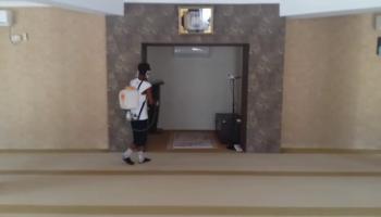 (video) Sembilan Masjid Disemprot Disinfektan, Begini Penjelasan Lurah Air Itam