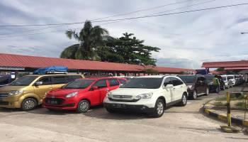 Seminggu Jelang Lebaran, Pelabuhan Tanjung Kalian Mulai Dipadati Kendaraan