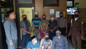 Sempat Tertunda Akibat Pandemi, 14 Tahanan Polres Bateng Akhirnya Dipindahkan ke Lapas