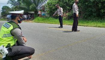 Seorang Anggota TNI Asal Toboali Tewas Usai Tertabrak Mobil Muatan Sayur